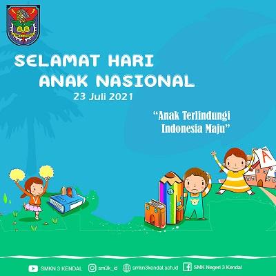 Anak Terlindungi,  Indonesia Maju!